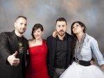Sergio, Virginia, David y Karla, Equipo de Aragón Musical