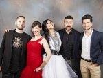 Sergio, Virginia, David, Karla y Alberto, Equipo de Aragón Musical